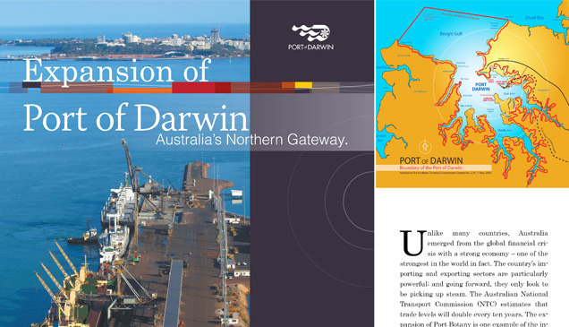Expansion of Port Darwin
