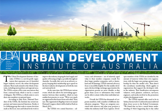 urban development institute of australia (UDIA)