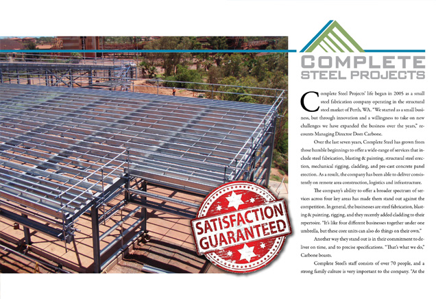 Complete Steel Projects