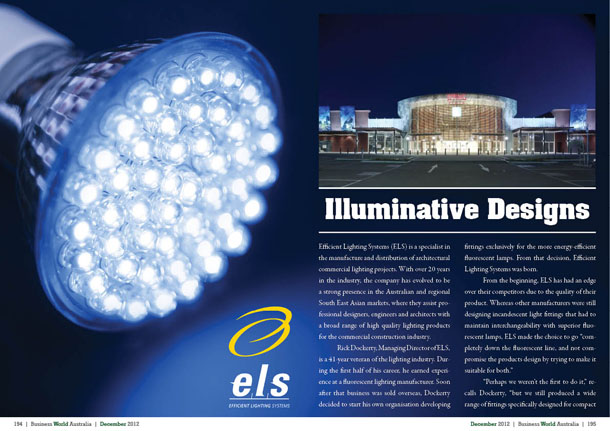 Efficient Lighting Systems – Illuminative Designs