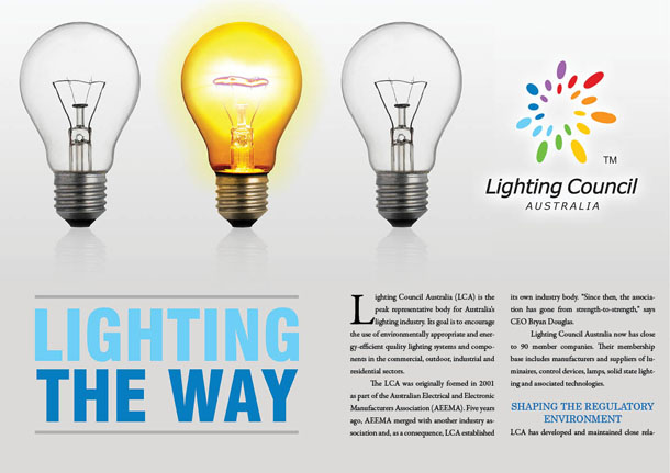 Lighting Council Australia – Lighting the way