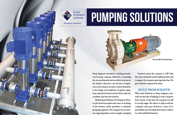 Pump Engineers Australia