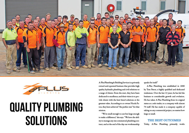 A-Plus Plumbing & Building Services