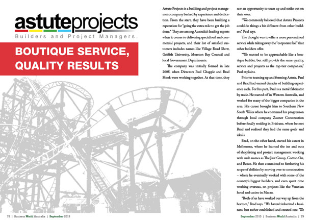 Astute Projects