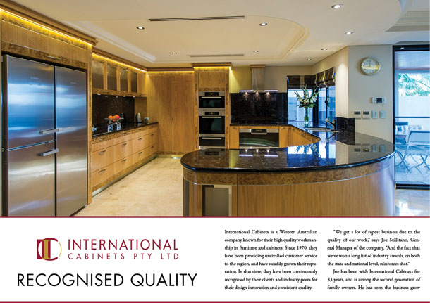 International Cabinets Pty Ltd